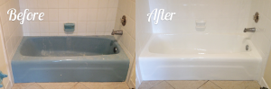 Blue Tub-Before-and-After