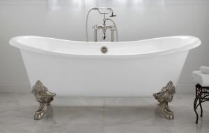 cast iron claw foot bath tub