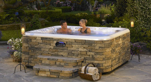 stone hot tub refinish