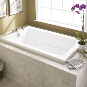 tub whirlpool refinish white