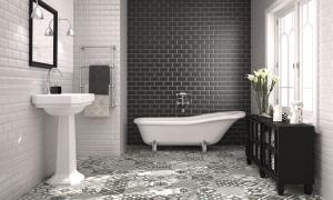 vintage tile tub